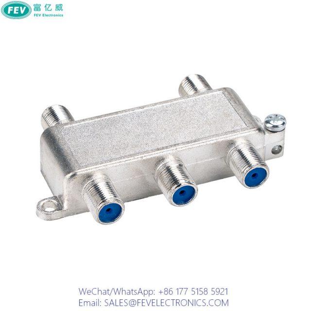 CATV 4 WAY SPLITTER FEV-SP107