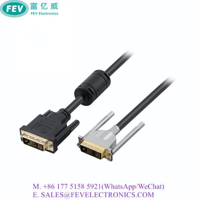 EMI Shielded DVI Cable
