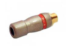 GOLD PLATED RCA FEMALE CABLE CONNECTOR FEV-B451