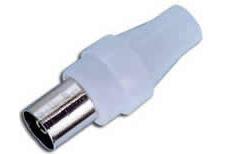 TV IEC Female Cable Connector 9.5/2.3mm female plug FEV-C223