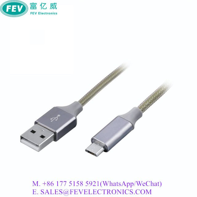 USB 2.0 A Male to Mirco B Male Cable