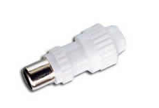 9.5mm/2.3mm TV IEC female plug for coaxial cable